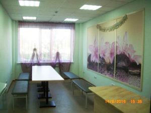 Комната для чаепития в детском развлекательном центре Тюмени Солнце в ладошках