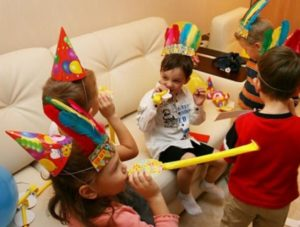 Если отмечать день рождения ребенка в Тюмени - дома